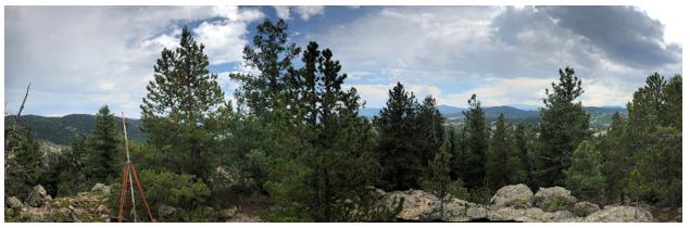 Maryland Mountain Summit, 9200'