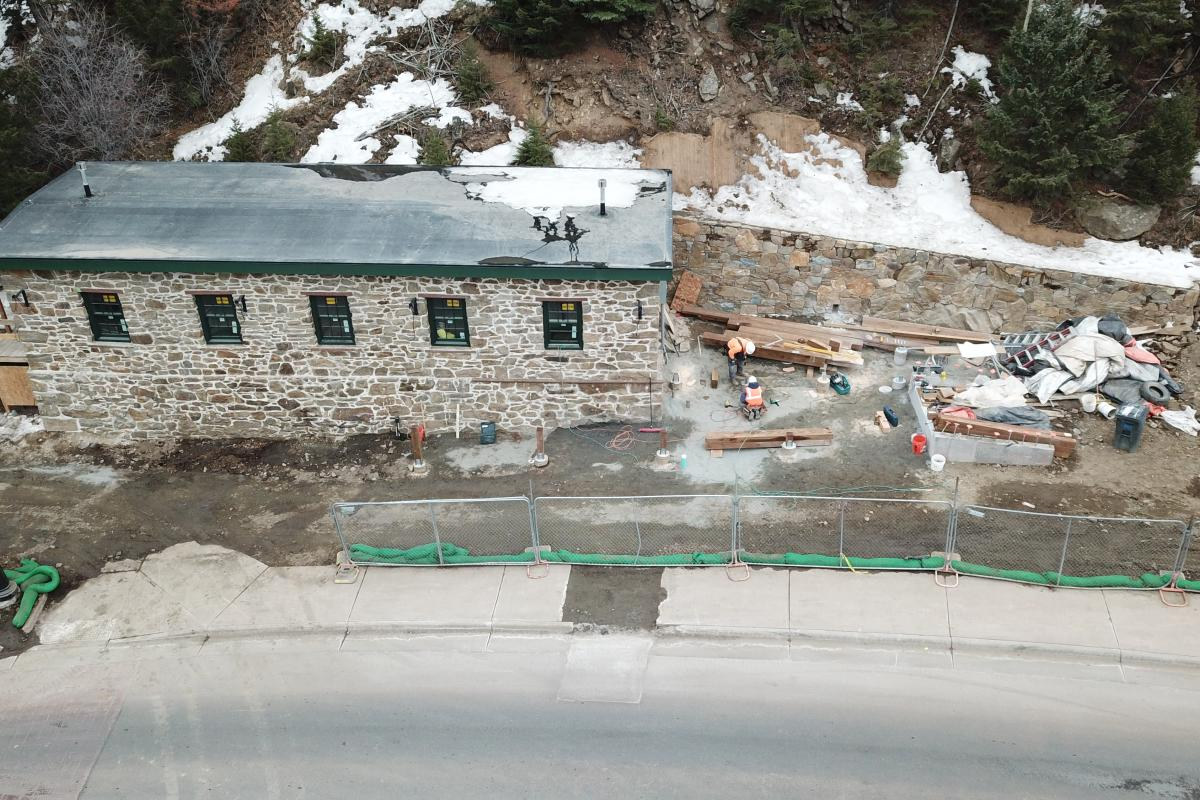 Bobtail Mine Building