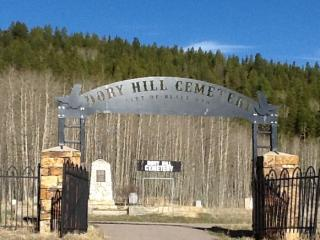 Dory Hill Cemetery Sign